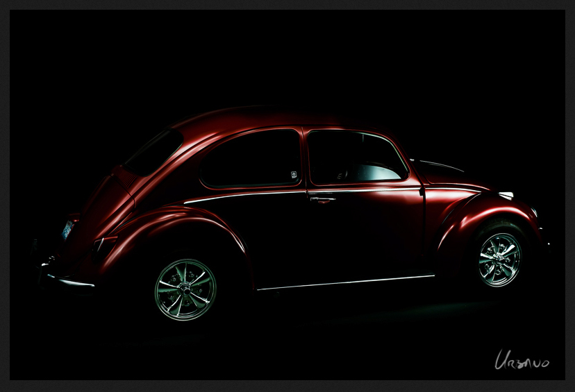 light-painting-VW-Red